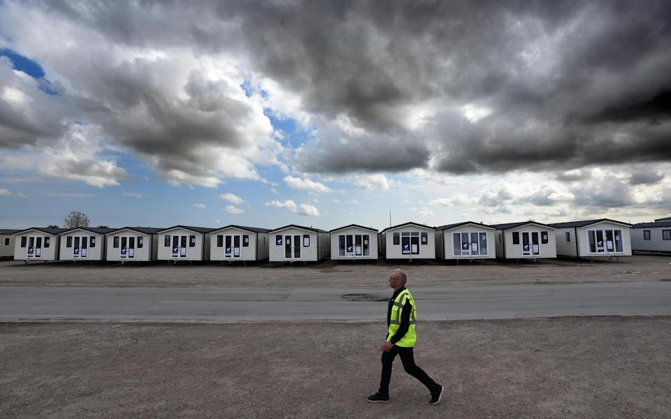A plant in Hull cannot build holiday homes quick enough, thanks to a staycation-fuelled boom in sales - Asadour Guzelian