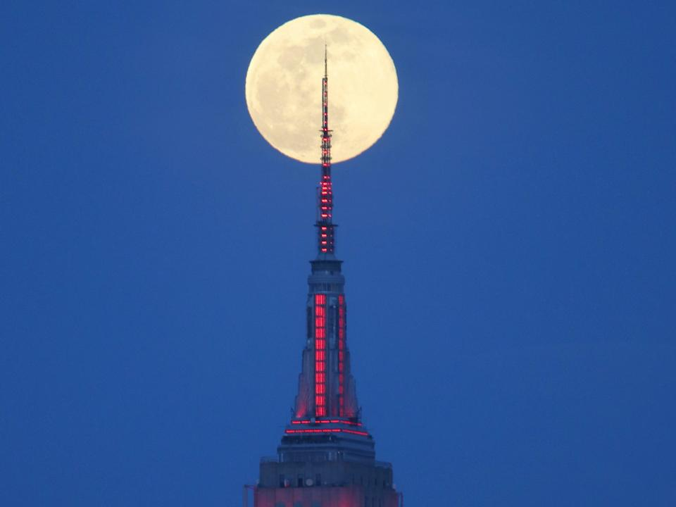 supermoon ny