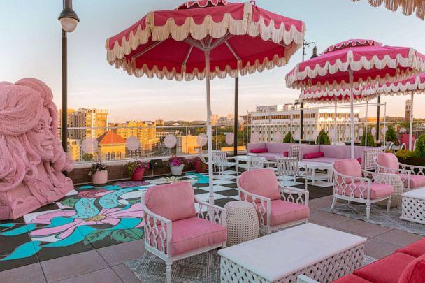 PHOTO: White Limozeen is the rooftop bar and restaurant located at the Graduate Nashville hotel. (Digital Love)
