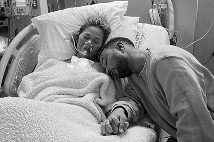 Chrissy Teigen praised for opening up about loss of baby Jack with heartbreaking post