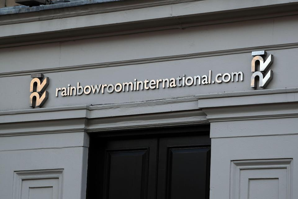 The Rainbow Room hairdressers in Glasgow's Royal Exchange Square