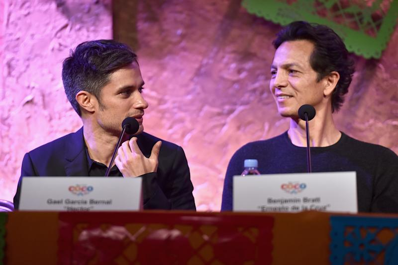 Gael Garcia Bernal and Benjamin Bratt