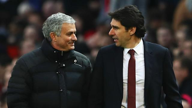 The coach took the club up to the Premier League and his departure from Middlesbrough was greeted in scathing fashion by the Manchester United