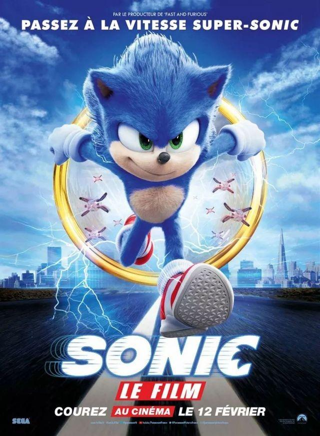 'Sonic' booms to top of N.America box office