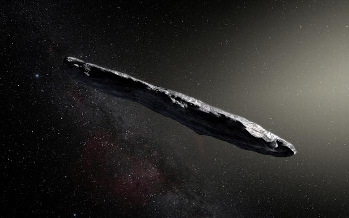 The OUMUAMUA object rendering Hawaii observatory aliens\.JPG