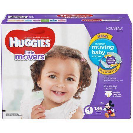 """<p>$30 </p><p><a class=""""link rapid-noclick-resp"""" href=""""https://www.walmart.com/ip/HUGGIES-Little-Movers-Diapers-Size-4-136-Diapers/108868099"""" rel=""""nofollow noopener"""" target=""""_blank"""" data-ylk=""""slk:BUY NOW"""">BUY NOW</a><br></p><p>Diapers are expensive, but Iowans know to head to Walmart for a good deal.</p>"""