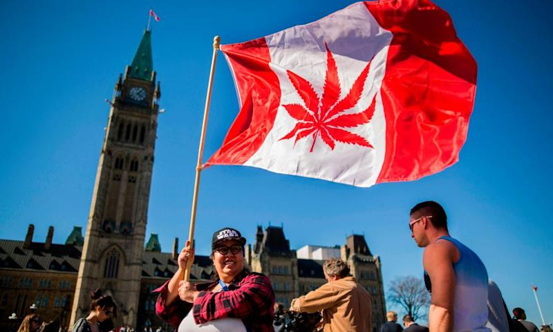 Canada will become the second country in the world to legalise recreational marijuana.