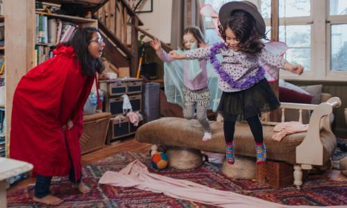 Your living room's a stage: the best arts, crafts and theatre for kids in lockdown