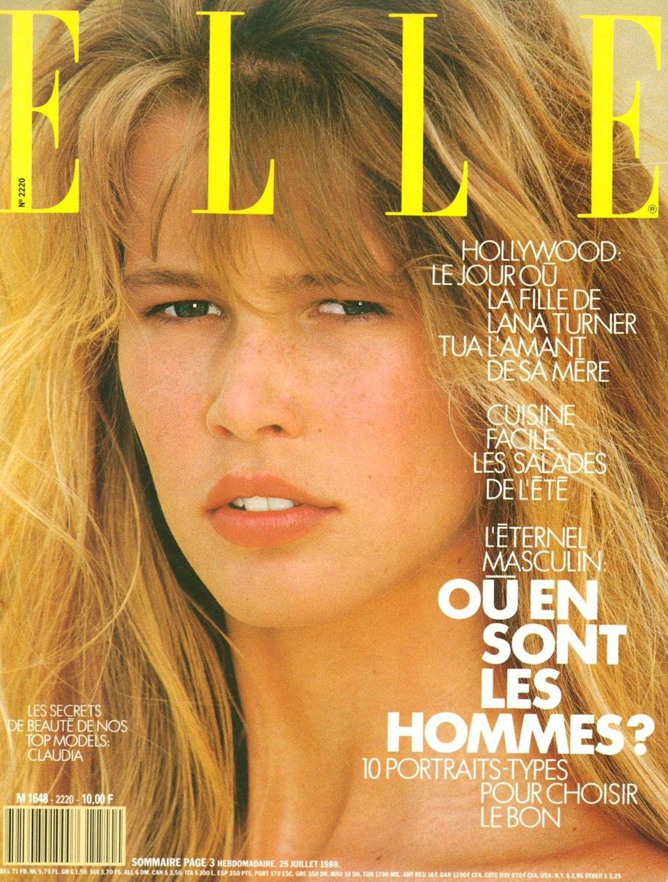 """<p>""""Each cover is memorable, but certainly my first-ever cover, which was for <em>ELLE France</em>, was special. I was living in Paris at the time, and it stared out at me at every kiosk.""""</p>"""