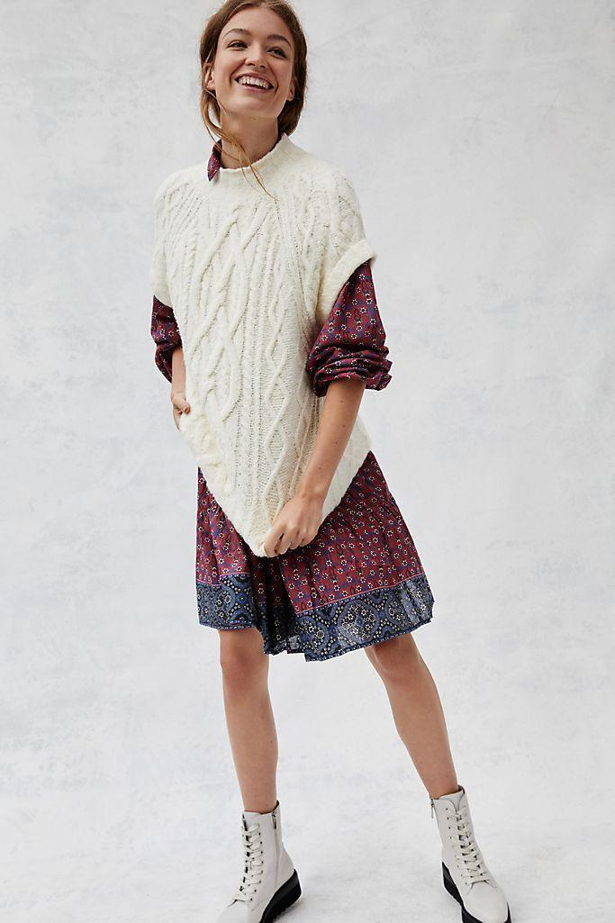 """<p><strong>Maeve</strong></p><p>anthropologie.com</p><p><strong>$158.00</strong></p><p><a href=""""https://go.redirectingat.com?id=74968X1596630&url=https%3A%2F%2Fwww.anthropologie.com%2Fshop%2Fcybil-cable-knit-sweater-vest&sref=https%3A%2F%2Fwww.townandcountrymag.com%2Fstyle%2Ffashion-trends%2Fg34521550%2Fbest-sweater-vests%2F"""" rel=""""nofollow noopener"""" target=""""_blank"""" data-ylk=""""slk:Shop Now"""" class=""""link rapid-noclick-resp"""">Shop Now</a></p><p>A chunky, oversized cableknit vest is a perfect option for bringing your floaty summer dresses into the cooler seasons. </p>"""