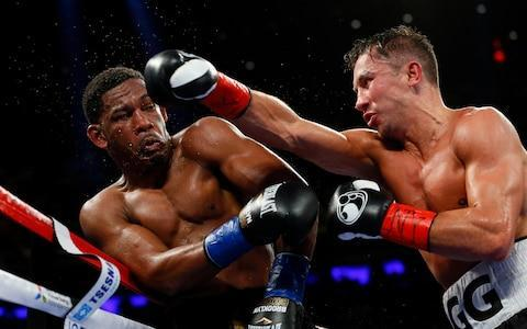 <span>GGG beat Daniel Jacobs on points in his most recent fight</span> <span>Credit: PA </span>