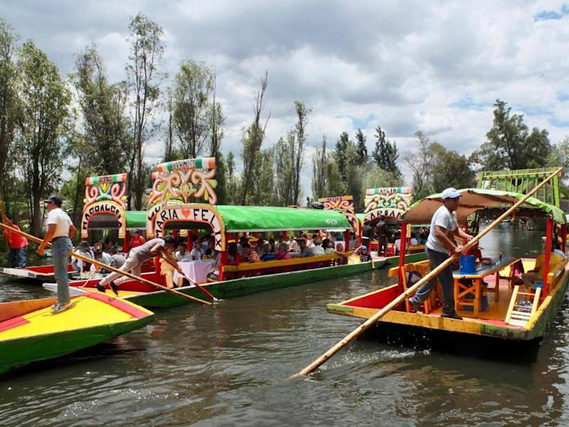 The Floating Gardens of Xochimilco (Sarah Gilbert)