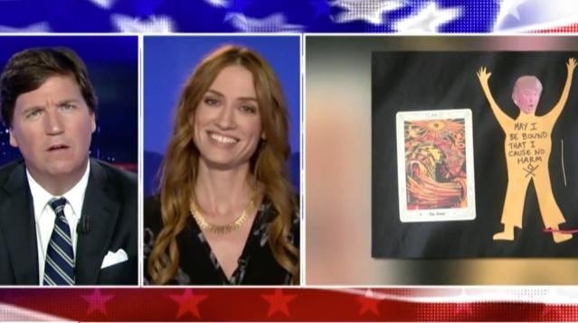 Tucker Carlson Had A Witch On His Show. It Did Not Go As Planned