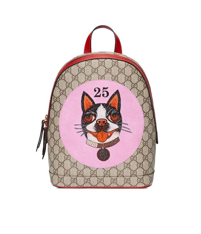 "<p>GG Supreme Bosco Backpack, $1,450, <a href=""https://www.gucci.com/us/en/pr/women/womens-handbags/womens-backpacks/gg-supreme-bosco-backpack-p-49562196IQT8253?position=2&listName=CNY_US&categoryPath=Gifts/Chinese-New-Year"" rel=""nofollow noopener"" target=""_blank"" data-ylk=""slk:gucci.com"" class=""link rapid-noclick-resp"">gucci.com</a> </p>"