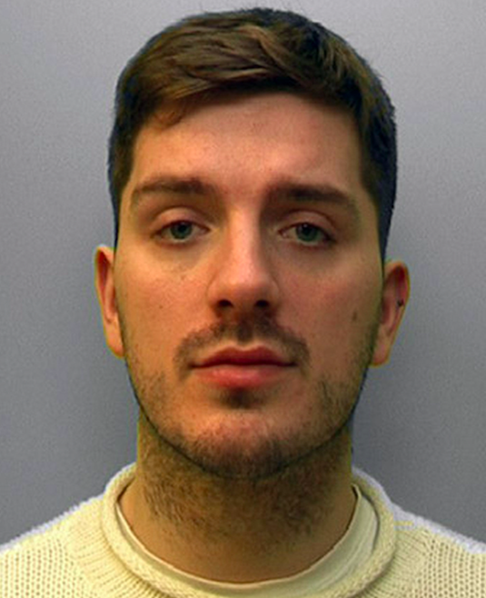 Daryll Rowe has been jailed for life with a minimum of 12 years More