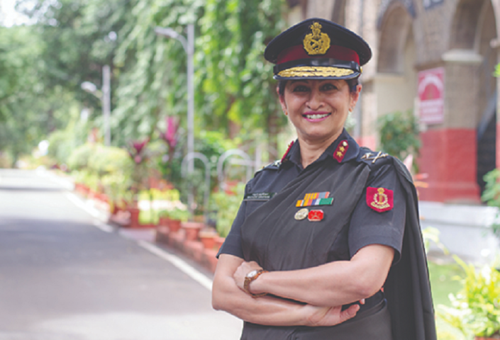 A highly respected officer and researcher, Kanitkar has received many accolades for her work.