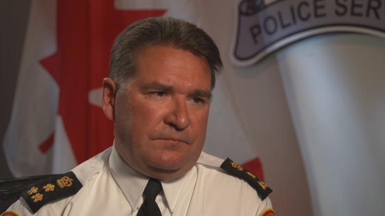 Thunder Bay police chief charged with breach of trust