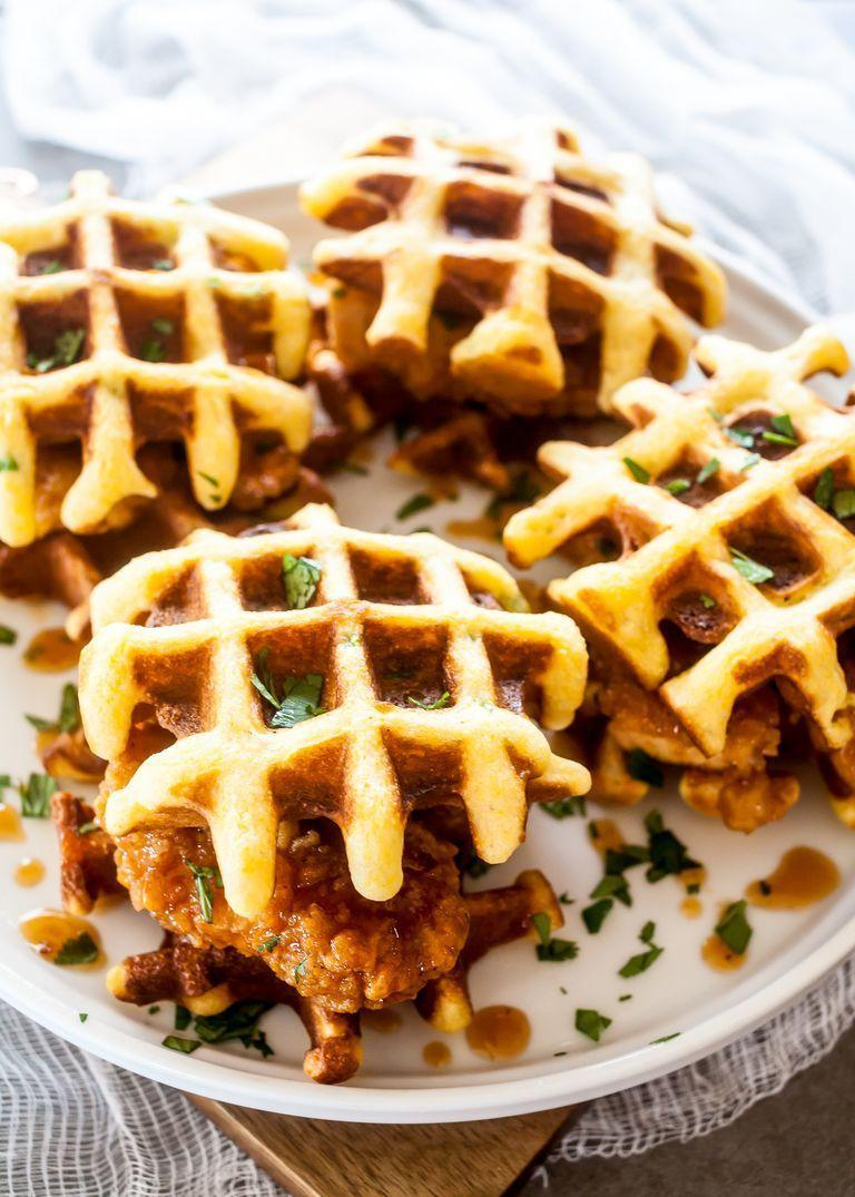 """<p>Put a brunch-inspired spin on your sliders. These chicken and waffles mini sandwiches are going to be a hit!</p><p><strong><a href=""""https://www.thepioneerwoman.com/food-cooking/recipes/a91342/chipotle-honey-chicken-and-waffle-sliders/"""" rel=""""nofollow noopener"""" target=""""_blank"""" data-ylk=""""slk:Get the recipe."""" class=""""link rapid-noclick-resp"""">Get the recipe.</a></strong></p><p><strong><a class=""""link rapid-noclick-resp"""" href=""""https://go.redirectingat.com?id=74968X1596630&url=https%3A%2F%2Fwww.walmart.com%2Fbrowse%2Fhome%2Fserveware%2Fthe-pioneer-woman%2F4044_623679_639999_2347672%2FYnJhbmQ6VGhlIFBpb25lZXIgV29tYW4ie&sref=https%3A%2F%2Fwww.thepioneerwoman.com%2Ffood-cooking%2Fmeals-menus%2Fg35049189%2Fsuper-bowl-food-recipes%2F"""" rel=""""nofollow noopener"""" target=""""_blank"""" data-ylk=""""slk:SHOP SERVEWARE"""">SHOP SERVEWARE</a><br></strong></p>"""