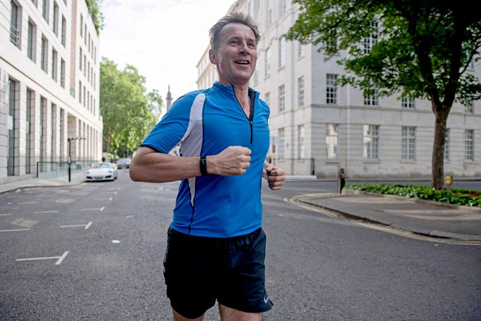Jeremy Hunt is leading the race for Number 10 among Tory MPs (Picture: PA)