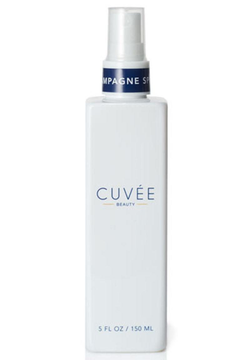 """<p>This wave spray is spiked with actual champagne extract (and a little salt) to create perfectly rumpled bends.</p><p><strong>Cuvée Beauty </strong>Champagne Spray, $42, <a rel=""""nofollow noopener"""" href=""""https://cuveebeauty.com/product/champagne-spray/"""" target=""""_blank"""" data-ylk=""""slk:cuveebeauty.com"""" class=""""link rapid-noclick-resp"""">cuveebeauty.com</a>.</p>"""