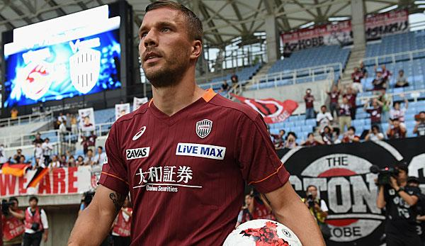 International: Alle Informationen zum J-League-Debüt von Podolski