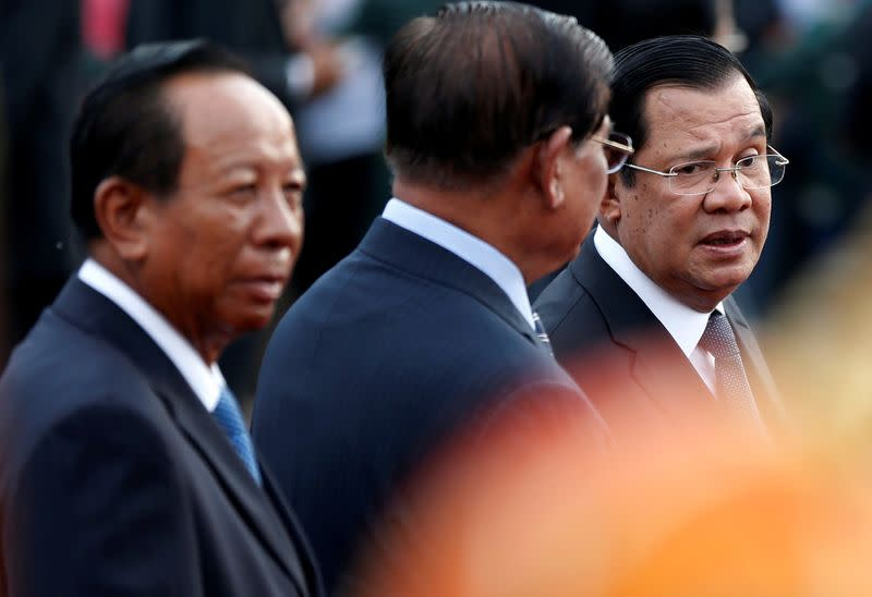Cambodia PM says country 'will not bow down' a day before EU trade decision