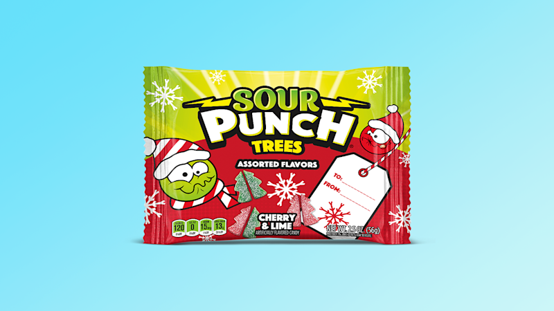 Sour Punch Trees Are Coming to Stuff Your Stocking