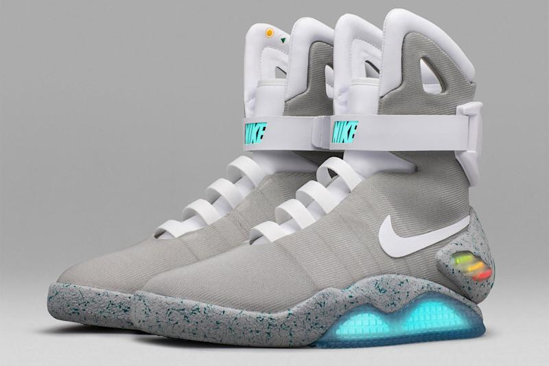 Those self-lacing 'Back to the Future' sneakers just auctioned for $100,000
