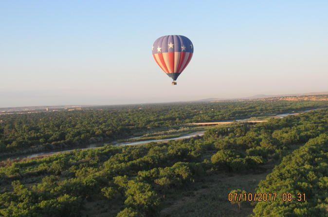 "<p><strong><a href=""https://www.viator.com/tours/Albuquerque/Albuquerque-Sunrise-Balloon-Ride/d28131-32440P3"" rel=""nofollow noopener"" target=""_blank"" data-ylk=""slk:Albuquerque Sunrise Hot Air Balloon Flight"" class=""link rapid-noclick-resp"">Albuquerque Sunrise Hot Air Balloon Flight</a></strong></p><p><strong>Albuquerque, New Mexico</strong></p><p>There's a lot to do in New Mexico, but the most popular experience is this sunrise hot air balloon flight. You can watch the sunrise as you float in a hot air balloon along the Rio Grande. You'll land to a celebratory glass of champagne. </p>"