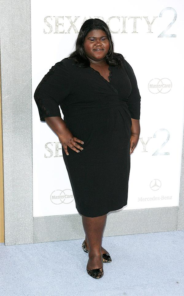 "<a href=""http://movies.yahoo.com/movie/contributor/1810088328"">Gabourey Sidibe</a> at the New York City premiere of <a href=""http://movies.yahoo.com/movie/1810111276/info"">Sex and the City 2</a> - 05/24/2010"