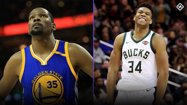 Kevin Durant giving Giannis Antetokounmpo advice on his future could worry some Bucks fans.