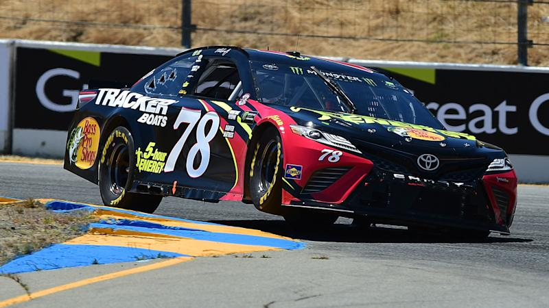 Martin Truex Jr rolls at Sonoma Sunday