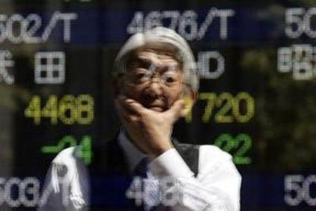 Asian equities were mixed in afternoon trade on Monday