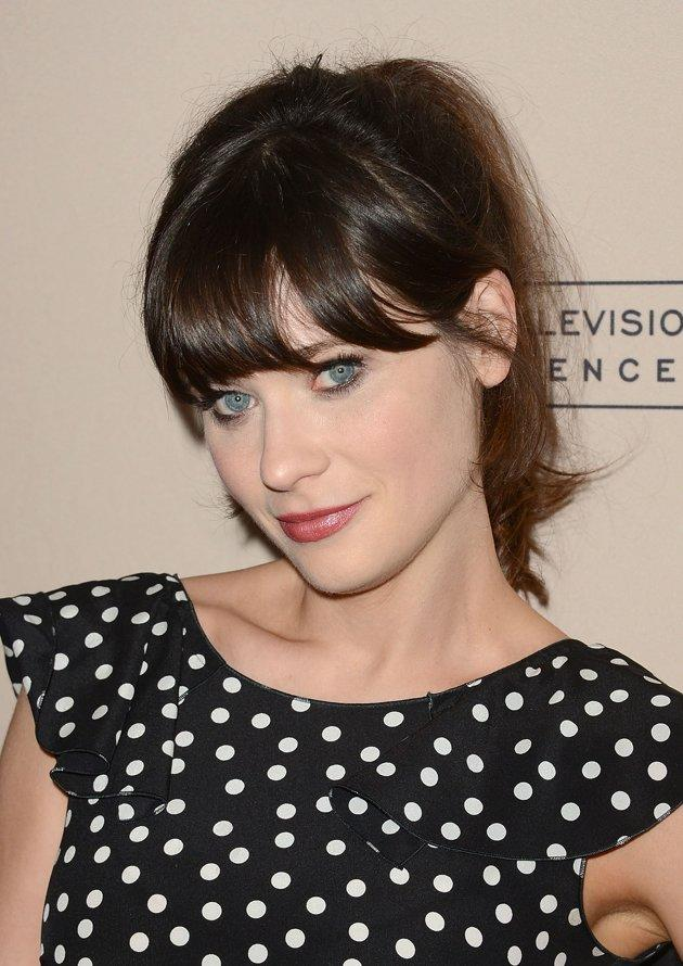 "<h2><b>2. Zooey Deschanel</b> -  After gaining fame for her roles in ""Elf"" and ""(500) Days of Summer,""  Fox's ""New Girl"" was nominated for Outstanding Lead Actress in a Comedy  Series.</h2>"