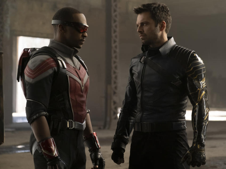 """The Falcon and the Winter Soldier"" läuft ab März auf Disney+. (Bild: ©Marvel Studios 2020. All Rights Reserved.)"