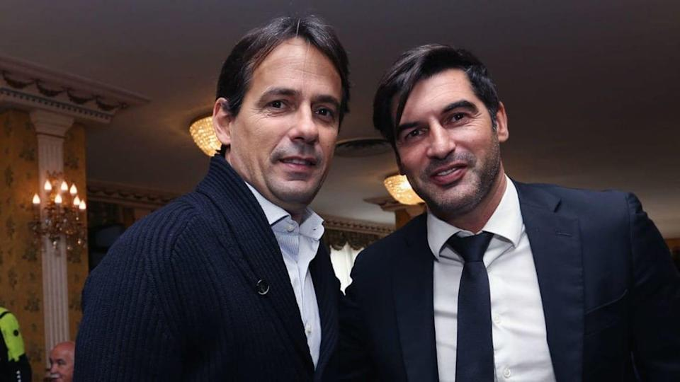 Simone Inzaghi e Paulo Fonseca | Paolo Bruno/Getty Images