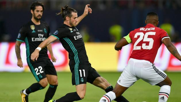 Real Madrid Win UEFA Super Cup Against Manchester United