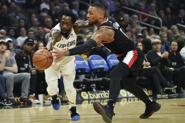 Jamie Hudson has the latest as the Trail Blazers beat LA for a fourth straight road win over the Clippers...