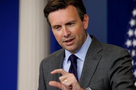 White House Press Secretary Earnest holds the daily press briefing at the White House in Washington holds the daily press briefing at the White House in Washington, U.S.