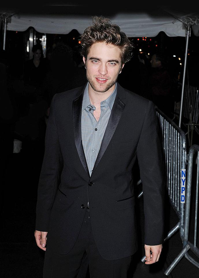 "<i>Star</i> magazine reports Robert Pattinson ""wants to star in a remake of the sci-fi flick 'Dune' -- but only if he isn't costumed in a goofy diaper, the way his fellow Brit Sting was in the 1984 original!"" The site quotes a ""source"" saying, ""Sting wore some odd loincloth, and Rob just doesn't want to go there... He also doesn't want to look like a robot or an alien."" Oh wait, there's one more thing Pattinson doesn't want to do -- the film ""Dune."" <a href=""http://www.gossipcop.com/the-remake-of-dune-is-a-dont-for-robert-pattinson/"" target=""new"">Gossip Cop</a> has the full story. James Devaney/<a href=""http://www.wireimage.com"" target=""new"">WireImage.com</a> - November 19, 2009"