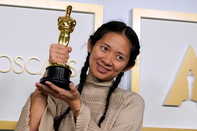 Chloe Zhao is the first woman of color to win the Oscar for best director, and only the second woman to do so in Oscars history