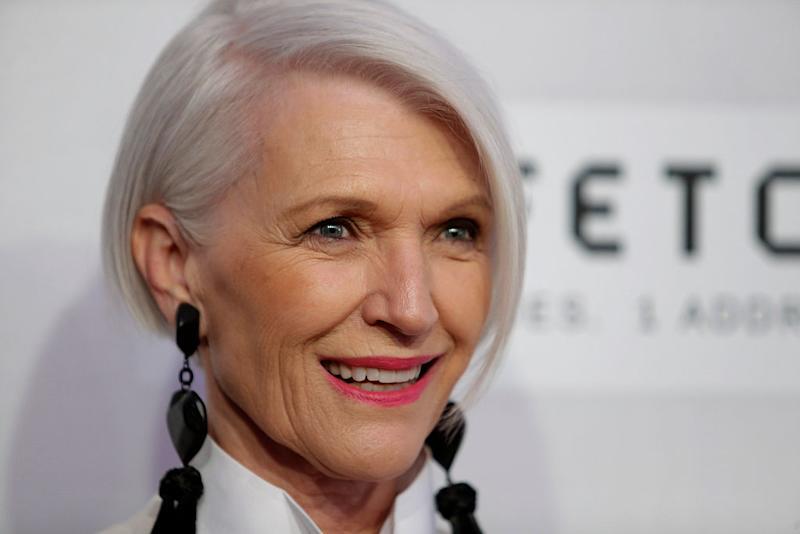 Maye Musk, Elon Musk's mother, is so classically chic at ...