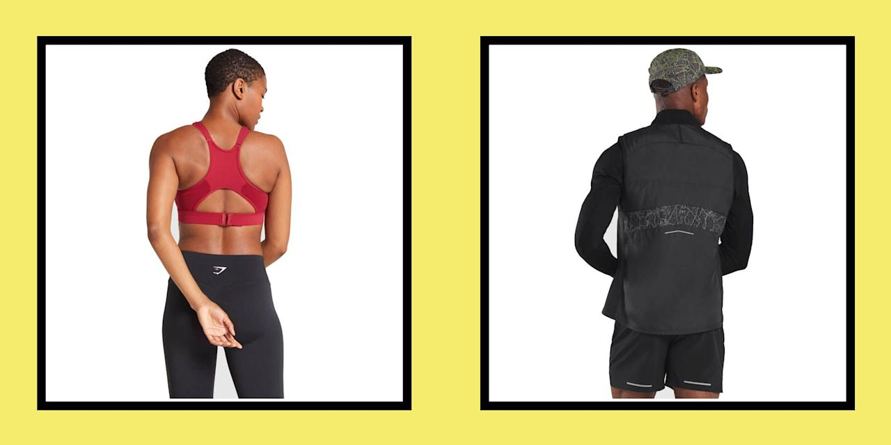 """<p>For years, Gymshark has been associated with kit to wear when strength training in the gym, but not actually on the run. </p><p>All that is about to change with the Gymshark run collection, designed to keep you comfortable as you clock up the miles. Here, we've rounded up our top picks from the collection, from <a href=""""https://www.runnersworld.com/uk/gear/clothes/a775937/16-best-running-sports-bras/"""" target=""""_blank"""">high-support running bras</a> to running gilets to keep you warm as the temperature drops: </p><p><strong>(We have not tested these products)  </strong></p>"""
