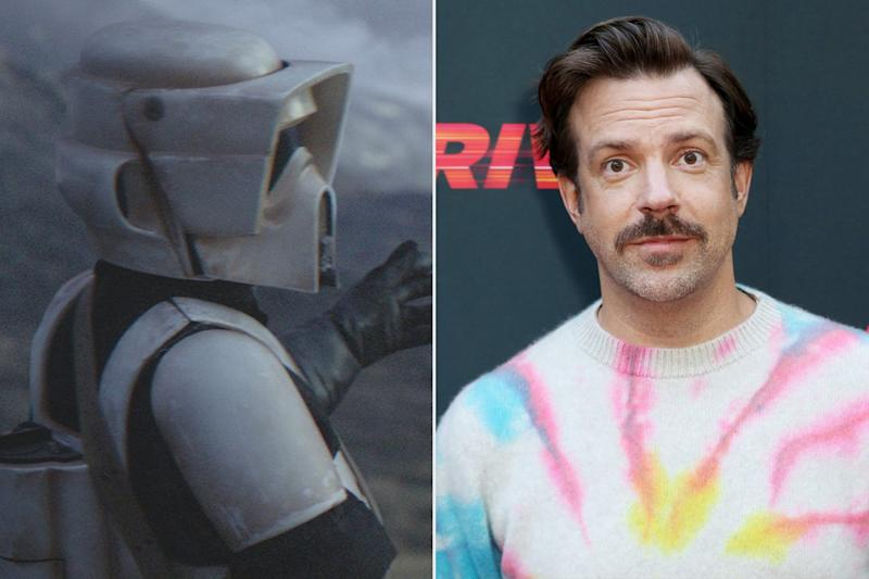 Jason Sudeikis Punches Baby Yoda as a Scout Trooper in Surprise The Mandalorian Cameo