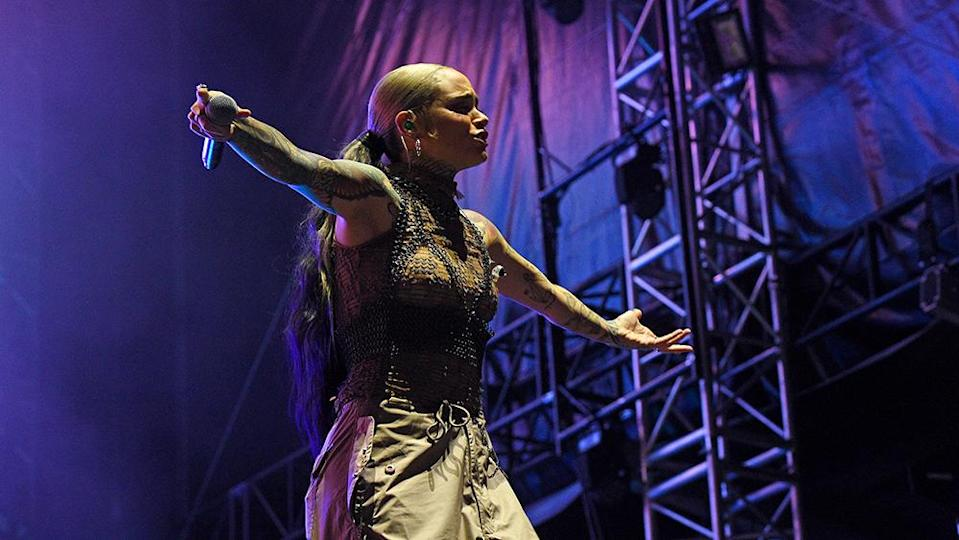 PHILADELPHIA, PENNSYLVANIA – SEPTEMBER 04: Kehlani performs during 2021 Made In America at Benjamin Franklin Parkway on September 04, 2021 in Philadelphia, Pennsylvania. (Photo by Kevin Mazur/Getty Images for Roc Nation) - Credit: Getty Images for Roc Nation