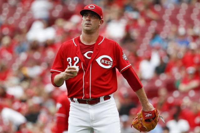 Matt Harvey's performance has seen an uptick since the Mets traded him to the Reds. (AP Photo)
