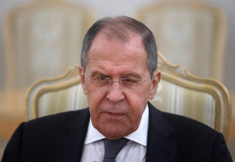 Russian Foreign Minister Sergei Lavrov, seen on May 12, 2021 in Moscow, will meet his US counterpart Antony Blinken in Reykjavik for talks that will test US-Russian ties