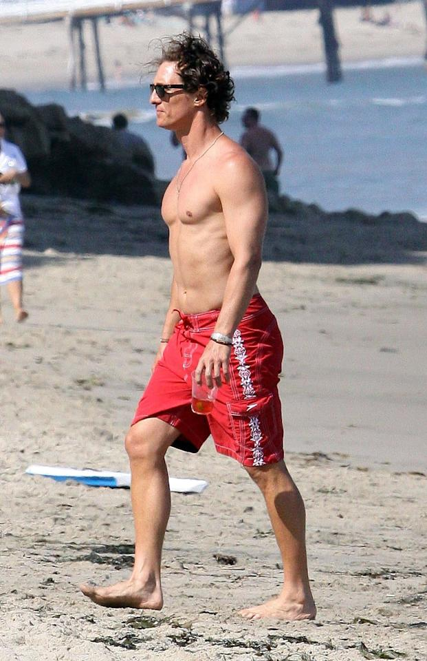 These Shirtless Matthew McConaughey Photos Are Better Than Alright - They're Downright Sexy