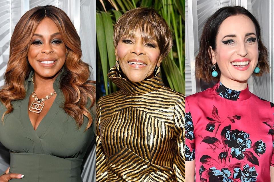 Niecy Nash, Cicely Tyson, and Zoe Lister-Jones at the <em>Elle</em> Women in Hollywood Awards in L.A. on Oct. 16. (Photo: Getty Images)
