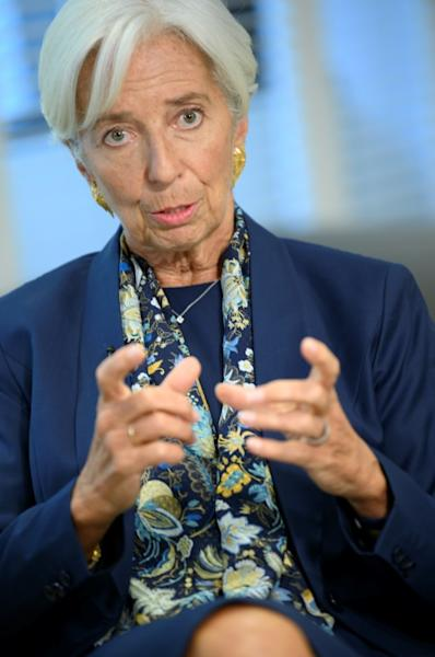 Outgoing IMF Managing Director Christine Lagarde visited Africa every year during her tenure (AFP Photo/Eric BARADAT)
